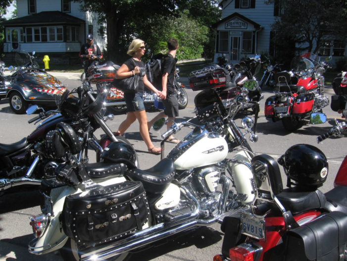 Born to be mild: Bikers gather in Port Dover, Ont.