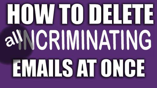 Emails destroyed, justice denied?