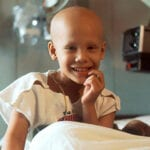 Child with cancer